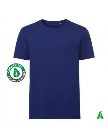t-shirt homme en coton bio, personnalisable avec impression ou broderie