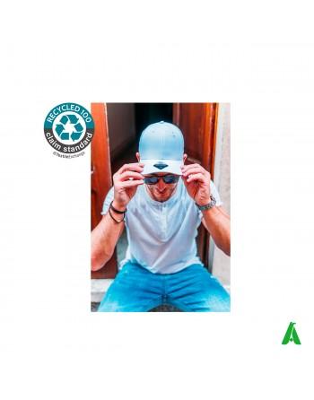 Casquette recyclée écologique avec broderie imprimée tourisme associations sportives promotionnelles