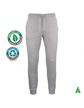 Pantalon de jogging en coton bio personnalisable avec broderie