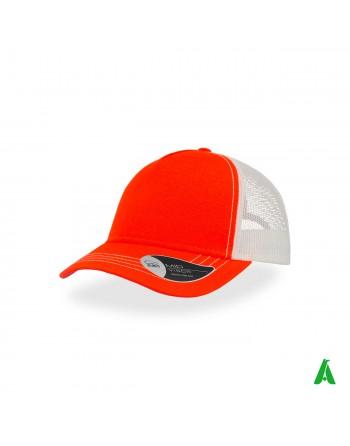 Casquette Rapper Canvas 100% coton personnalisable avec broderie d'entreprise jusqu'à 9 couleurs