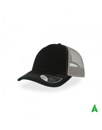 Rapper Canvas 100% cotton cap customizable with company embroidery up to 9 colors