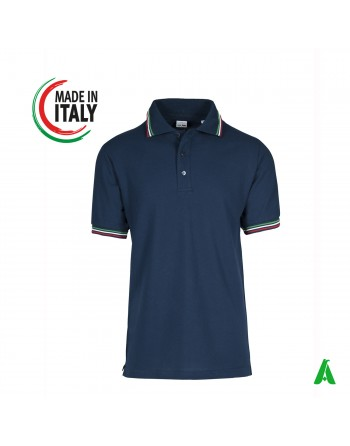 Men's polo shirt made in Italy with personalized embroidery