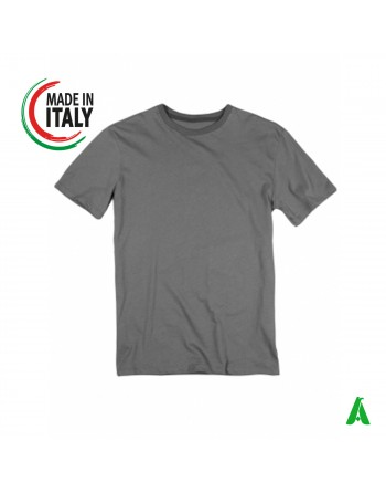 Made in Italy men's t-shirt customizable with embroidery of your logo IT6500T