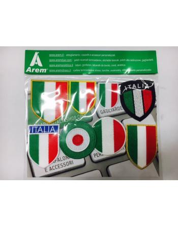 FLAG - KIT scudetti Italia