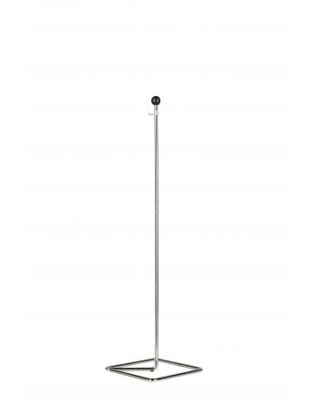 Tischständer für Wimpel aus verchromten Metalldraht cm 40