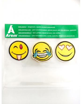 SET SMILE BADGES N°1