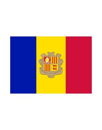 Parche bandera Andorra