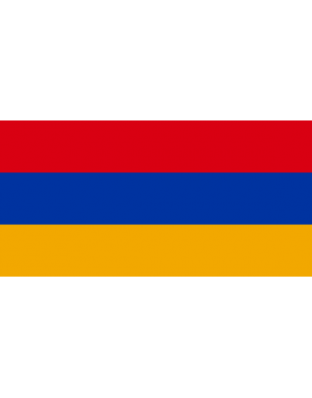 Nationalflagge Armenien mit Thermokleber