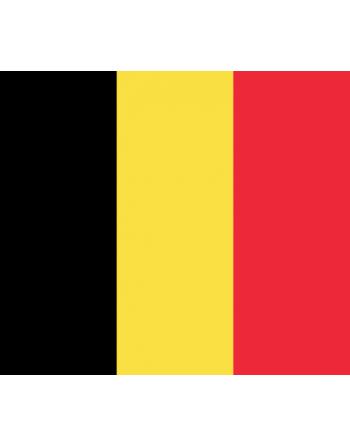 Nationalflagge Belgien mit Thermokleber