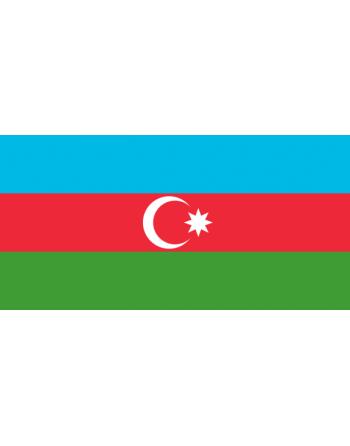 Patch Bandiera Azerbaijan termoadesive