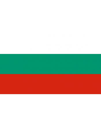 Aufnäher Nationalflagge Bulgarien mit Thermokleber