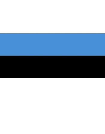 Iron-on embroidered Flag Estonia