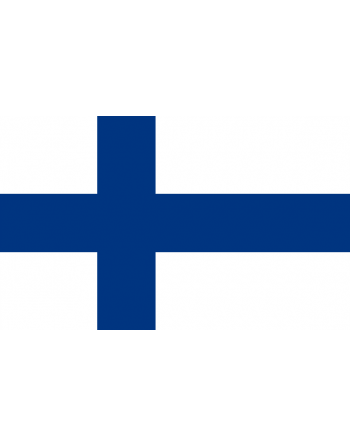 Iron-on embroidered Flag Finland
