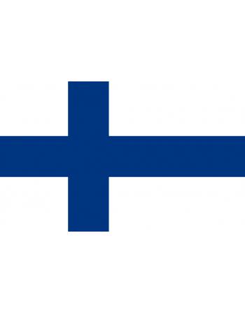 Patch Bandiera Finlandia termoadesive e da cucire su abbigliamento, cappelli, zaini e tessile.