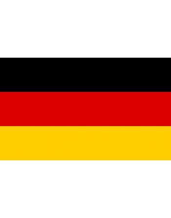 Aufnäher Nationalflagge Deutsche thermoadhäsive und nähende.