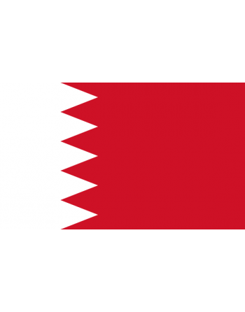 Iron-on embroidered Flag Bahrain