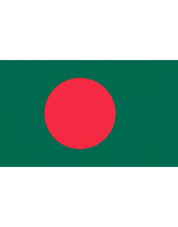 Iron-on embroidered Flag Bangladesh