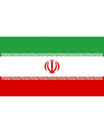 Iron-on embroidered Flag Iran