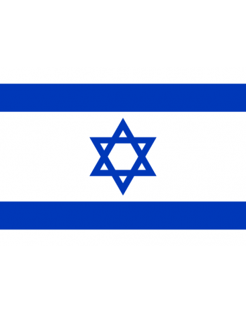 Aufnäher Nationalflagge Israel mit Thermokleber