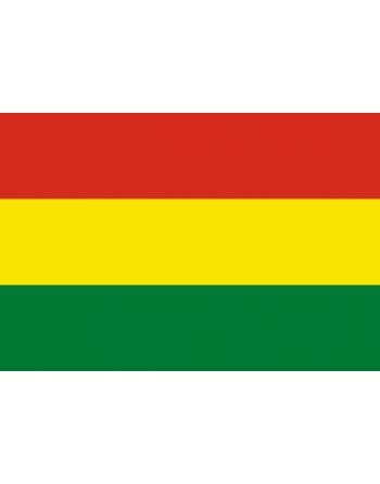 Aufnäher Nationalflagge Bolivien mit Thermokleber