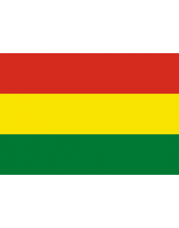 Iron-on embroidered Flag Bolivia