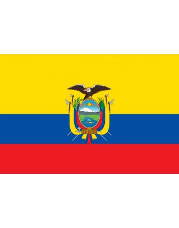 Écussons Drapeaux Ecuador thermocollant
