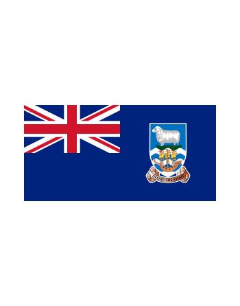 Iron-on embroidered Flag Falkland Island