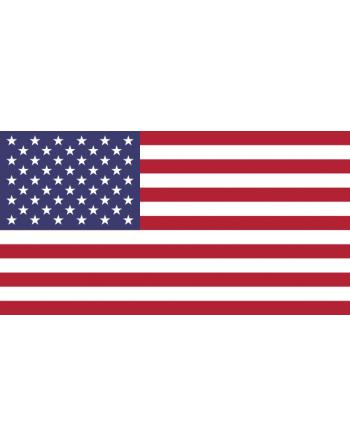 Aufnäher Nationalflagge Die Vereinigten Staaten von Amerika mit Thermokleber