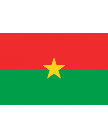 Écussons Drapeaux Burkina Faso thermocollant