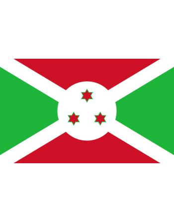 Iron-on embroidered flag Burundi