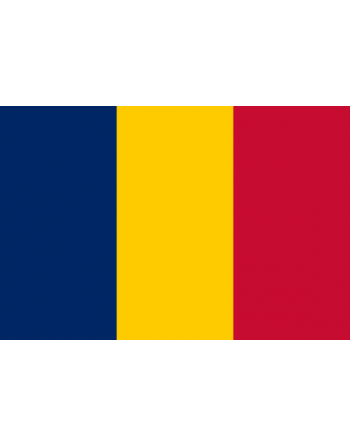 Aufnäher Nationalflagge Tschad mit Thermokleber