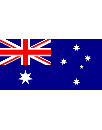 Iron-on embroidered flag Australia