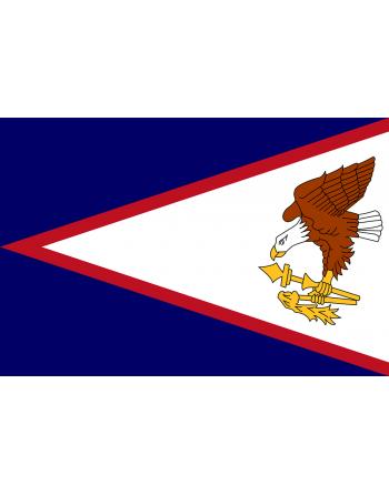 Iron-on embroidered flag American Samoa
