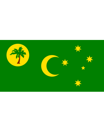 Iron-on embroidered flag Cocos Islands