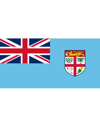 Parche bandera Islas Fiji
