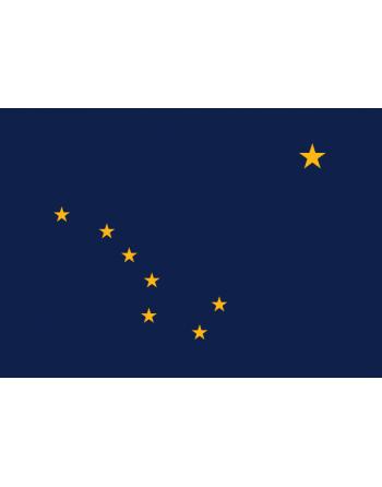 Écussons Drapeaux Alaska thermocollant