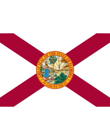 Écussons Drapeaux Florida thermocollant