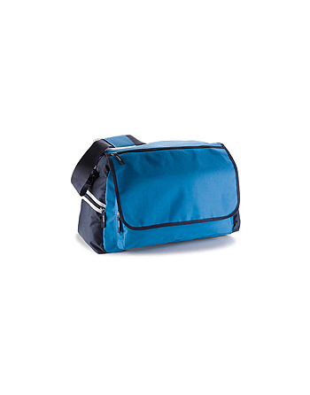 Blue royal and blue navy sport-travel bag for zumba