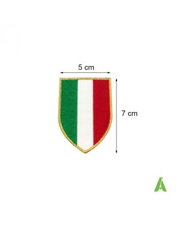 Gestickte Aufnäher - Abzeichen Italien cm 5 x 7