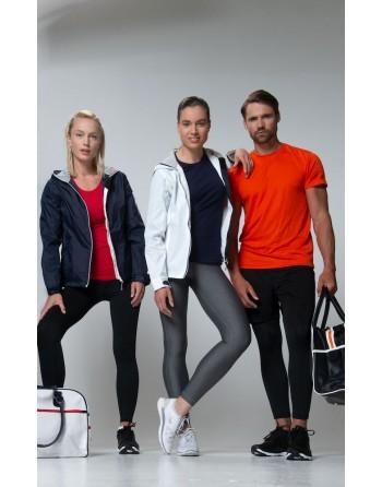 Leichte damen Jacke im nautischen Stil, wind- und wasserabweisend mit individueller Stickerei, für Meer, Unternehmen, Sport.