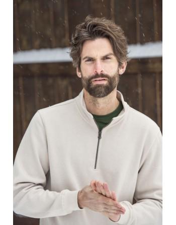 Unisex half zip sweatshirt...