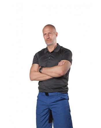 Technical fabric men's polo...