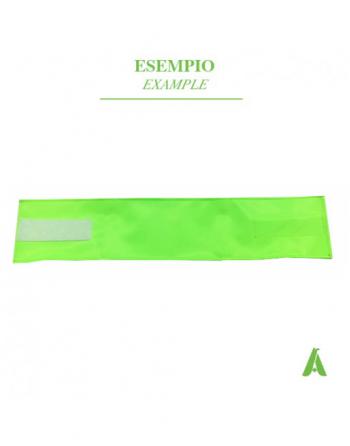 Brassard vert fluorescent haute visibilité pour infirmières, la croix rouge, hôpitaux, sécurité, police.