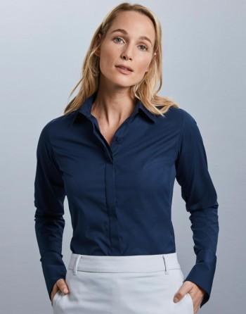 Camisa mujer elástica m /...