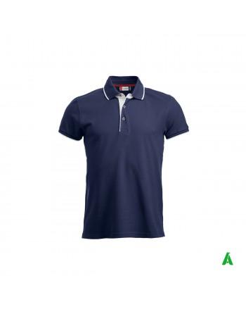 Herren-Poloshirt mit halben...