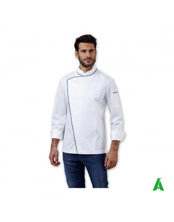 Chef jacket with diagonal...