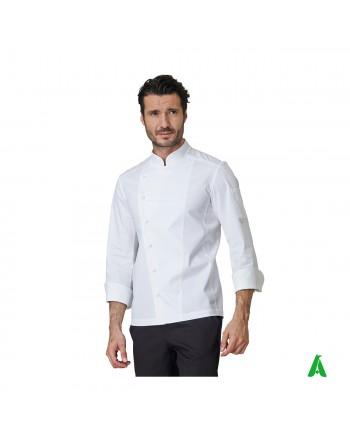 Chef jacket in stretch...