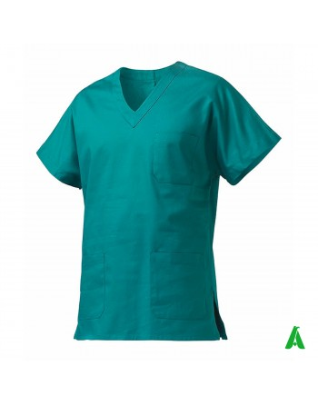 Unisex medical coat customizable with print or embroidery