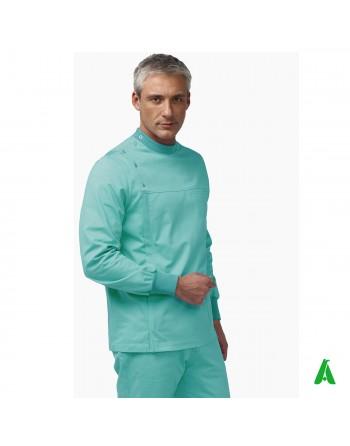 Manteau médical unisexe personnalisable avec impression ou broderie 100% coton