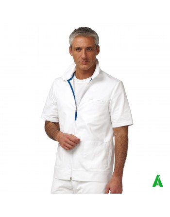 Unisex medical coat customizable with 100% cotton print or embroidery